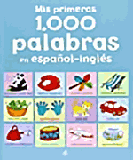 """libro para que los niños aprendan inglés fácil: """"mis primeras mil palabras en inglés y castellano"""""""