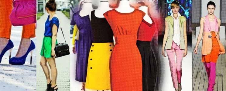 combinar los colores en indumentaria