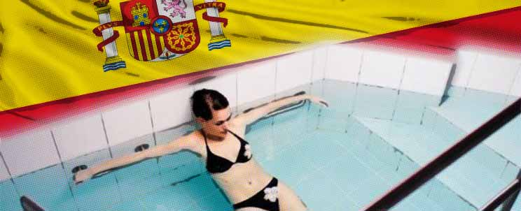 Baños termales de España