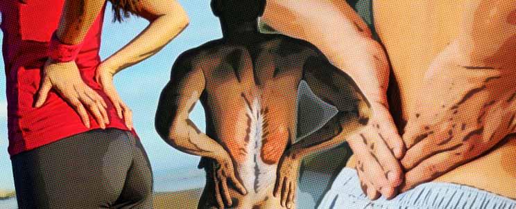 Contracturas musculares en la espalda