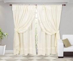 cortinas romanticas
