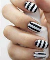nail art rayas