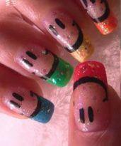 nail art sonrisa