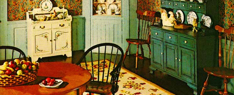 decoración vintage