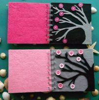 cuaderno botones