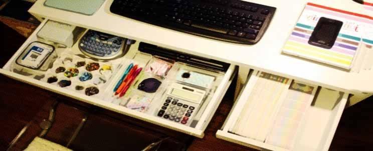 organizar tu escritorio de trabajo