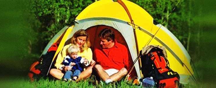 día de camping