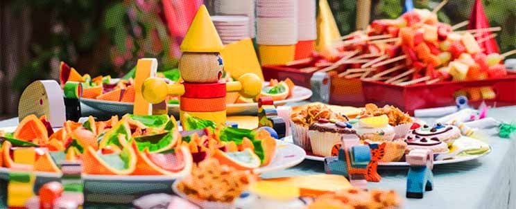 comidas para fiestas infantiles