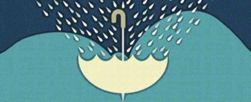 Agua de lluvia recolectada