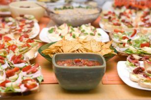 fiesta mexicana comida