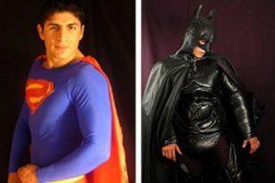 fiesta personajes superman