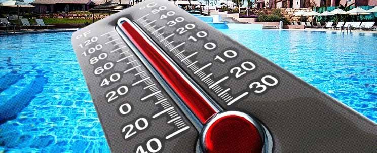 temperatura ideal para una piscina climatizada