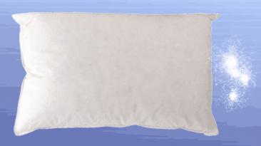 almohada de plumón