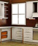 Muebles de cocina de PVC