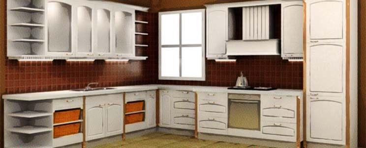 Muebles de cocina de pvc polilaminados for Gabinetes de cocina modernos