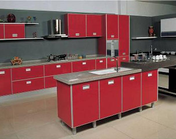 Muebles de cocina de PVC (polilaminados)