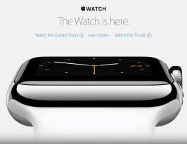 Reloj de muñeca Apple