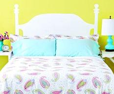 respaldos cama pintado