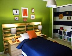 respaldos cama reciclado