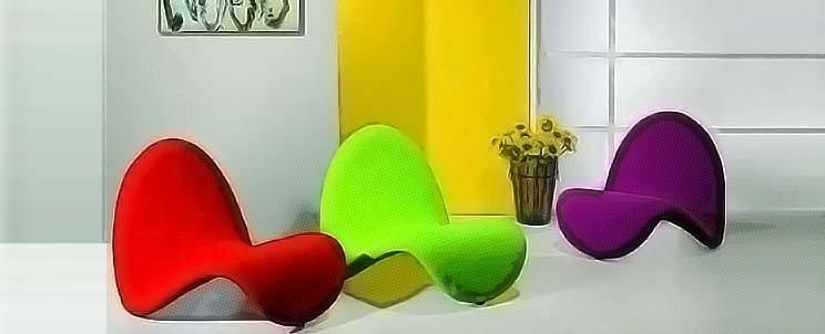sillones de plástico