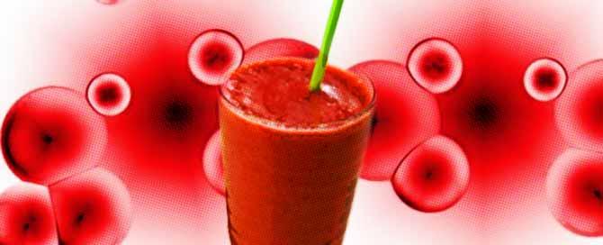 Licuados para la anemia