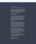 carta de cierre de grooveshark