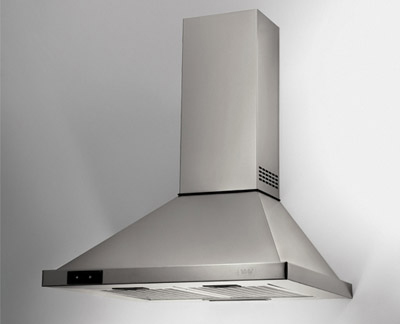 Tipos de extractores para cocina for Extractor de cocina de pared