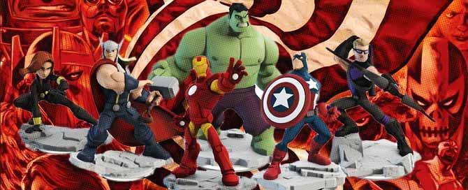 juguetes de Marvel Comics